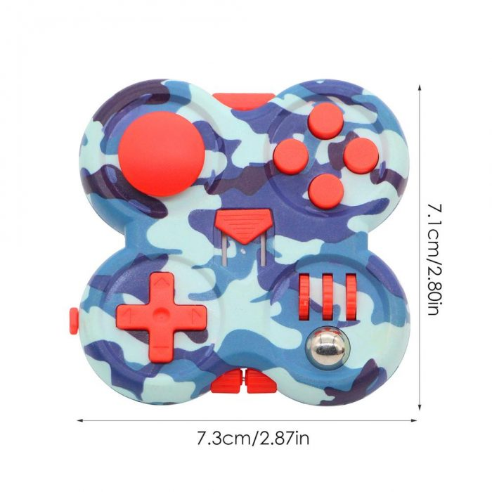 Fidget Pad Portable Controller Buttons Stress Relief Decompression Toy Gamepad Relieve The Stress Tool Easy Storage 5 - Fidget Pad