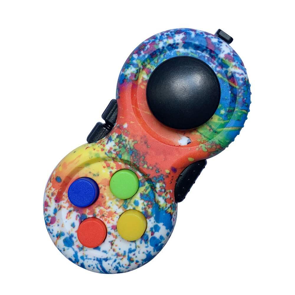 Colorful Fidget Pad Controller 8 Features for Stress Relief