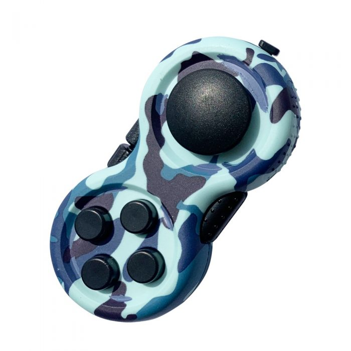 Game Pad Fidget Toy Decompression Gift Plastic Finger Toy Reliever Stress Hand Fidget Pad Classic Controller 3 - Fidget Pad
