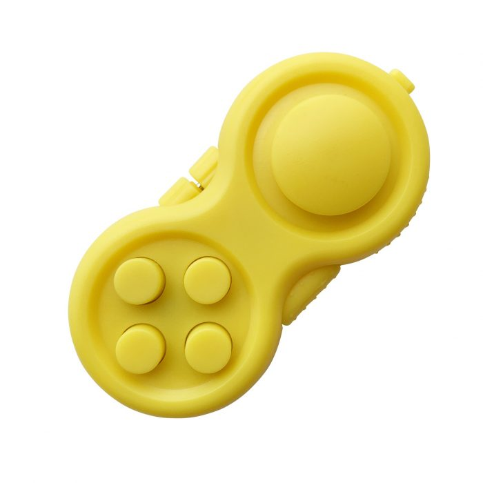 Game Pad Fidget Toy Decompression Gift Plastic Finger Toy Reliever Stress Hand Fidget Pad Classic Controller 4 - Fidget Pad