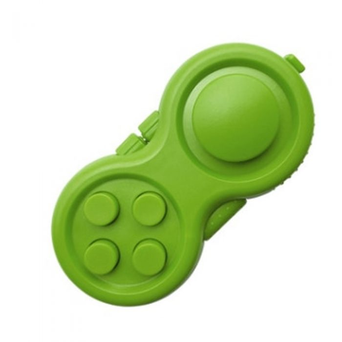 Green-Fidget-Pad-Controller-8-Features-for-Stress-Relief-2